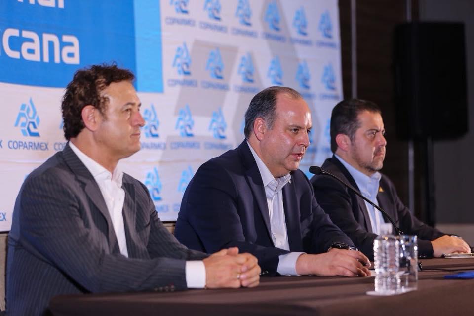 Gustavo de Hoyos, presidente de la Coparmex