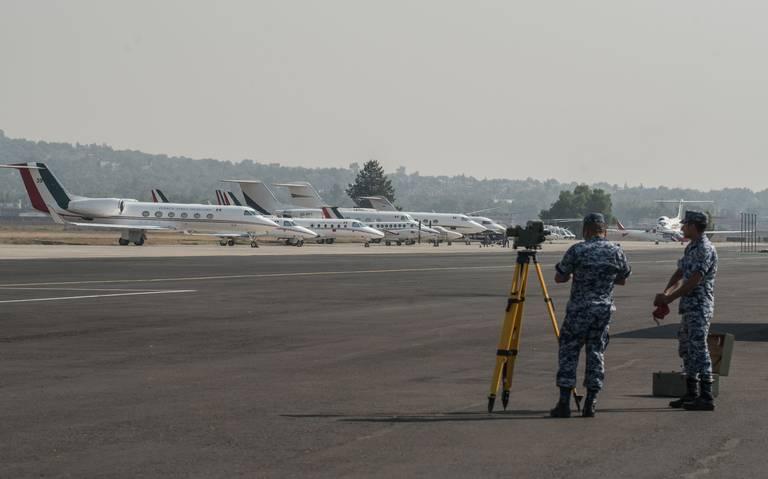 aeropuerto militar de santa lucia