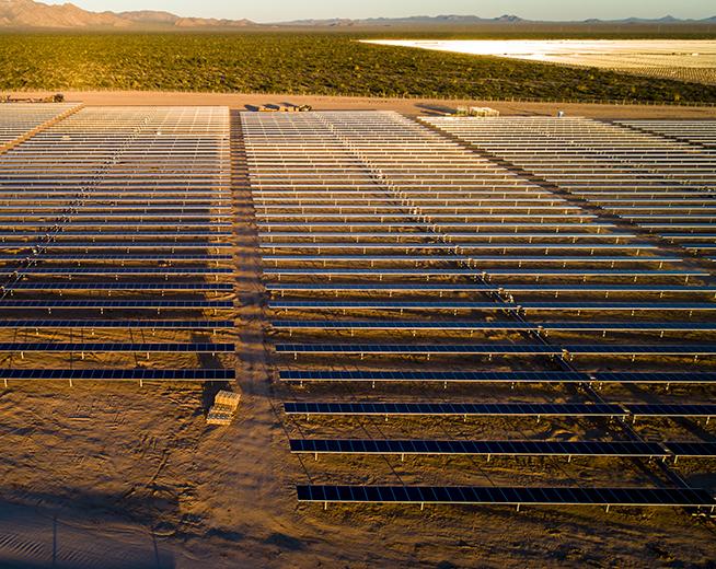 Planta fotovoltaica Puerto Libertad