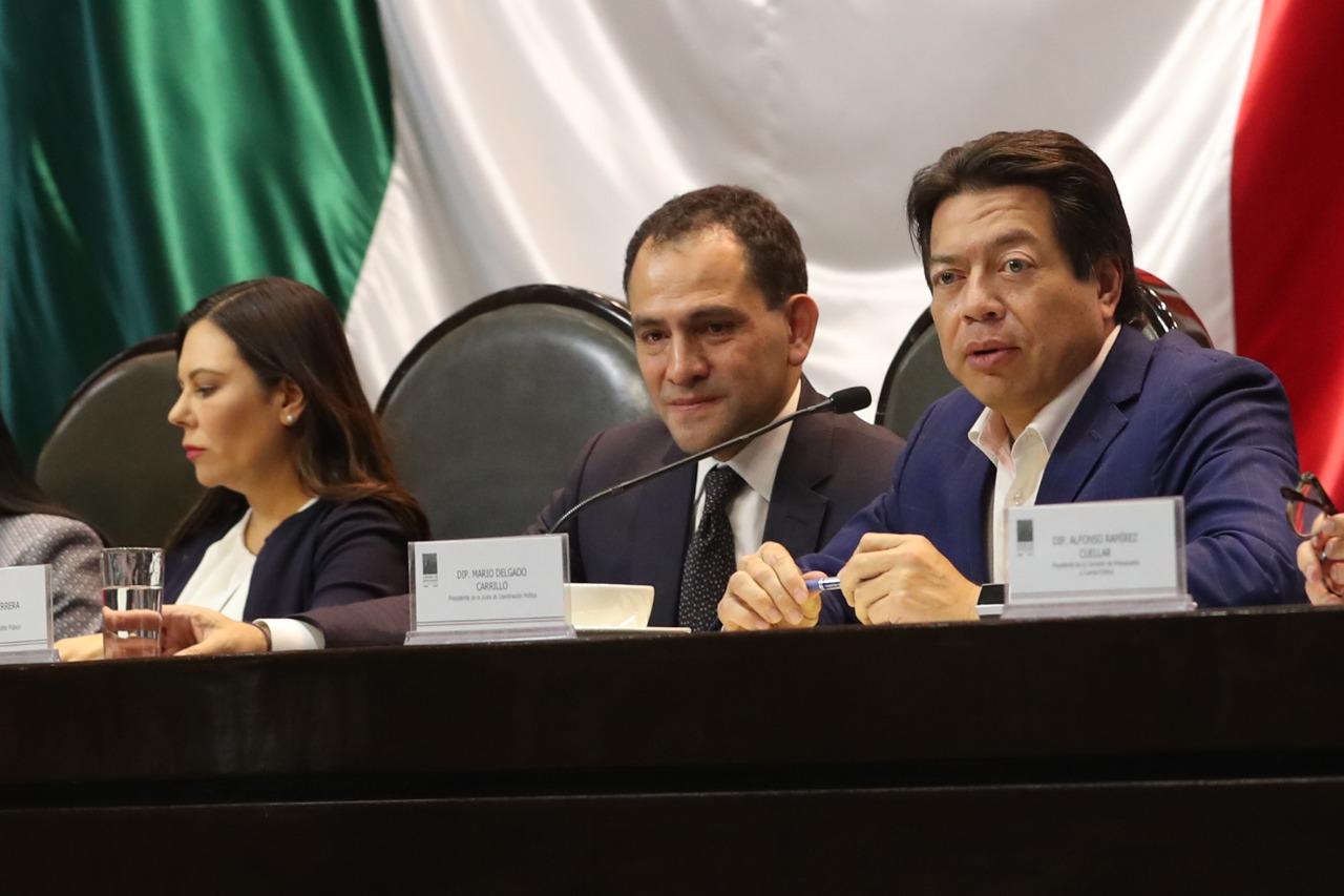 Mario Delgado, coordinador de los diputados de Morena