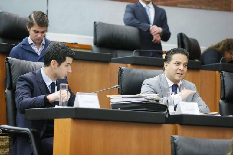 Salón de trabajos plenarios del Senado de la República