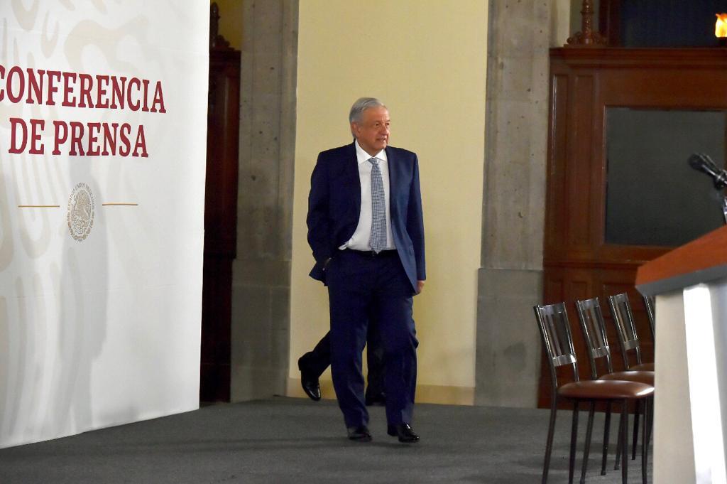 Andrés Manuel López Obrador, presidente de la República