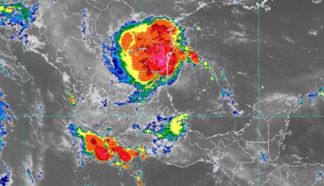 Mapa tormenta Fernad