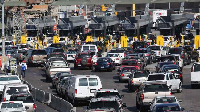 Cruce fronterizo México - Estados Unidos