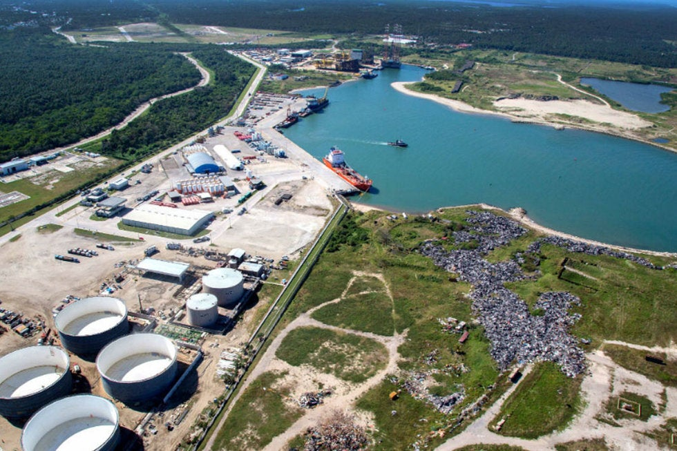 Proyecto de la Refinería de Dos Bocas