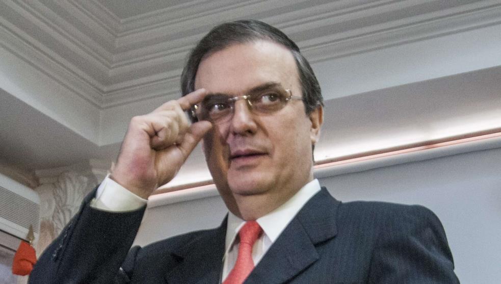Marcelo Ebrard, titular de la Secretaría de Relaciones Exteriores