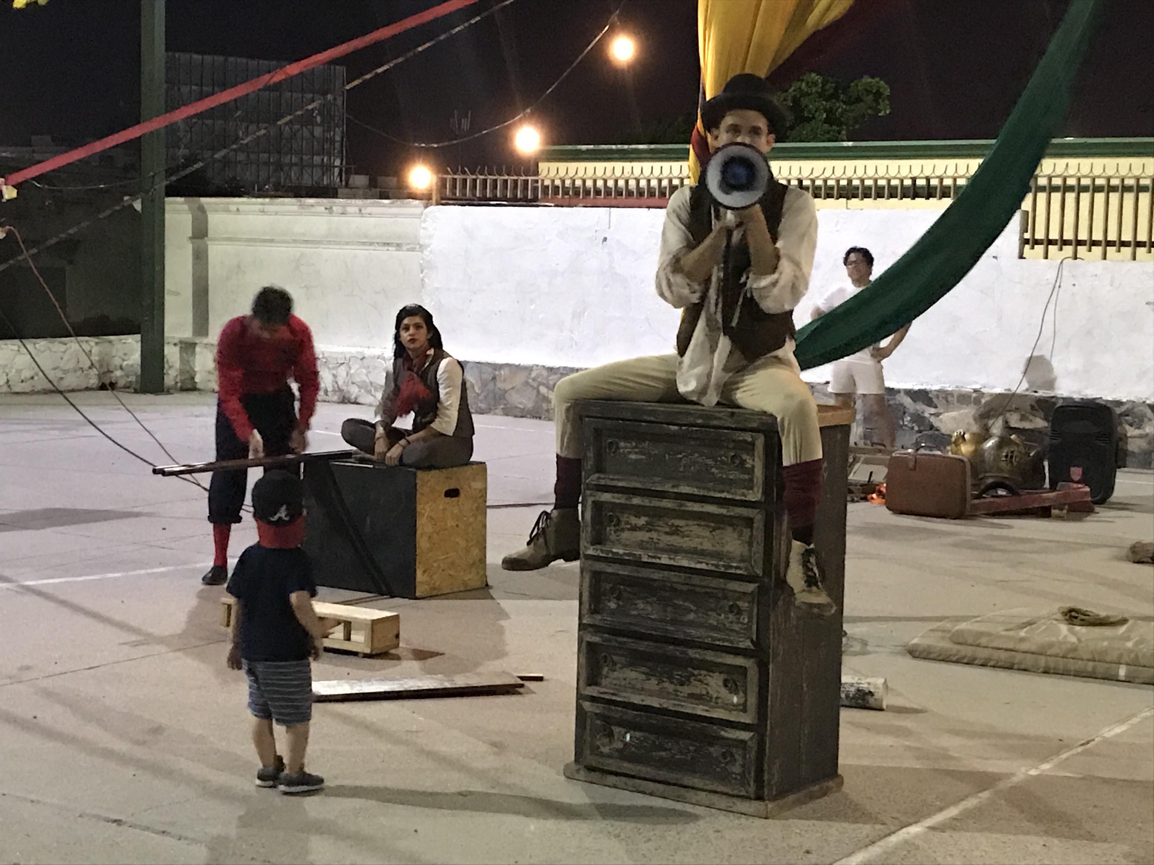 El circo de Bryan Martínez conquista a Sonora