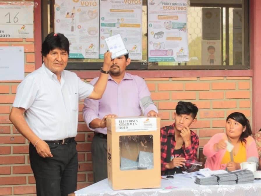 Ganamos en la primera vuelta la presidencia de Bolivia: Evo Morales