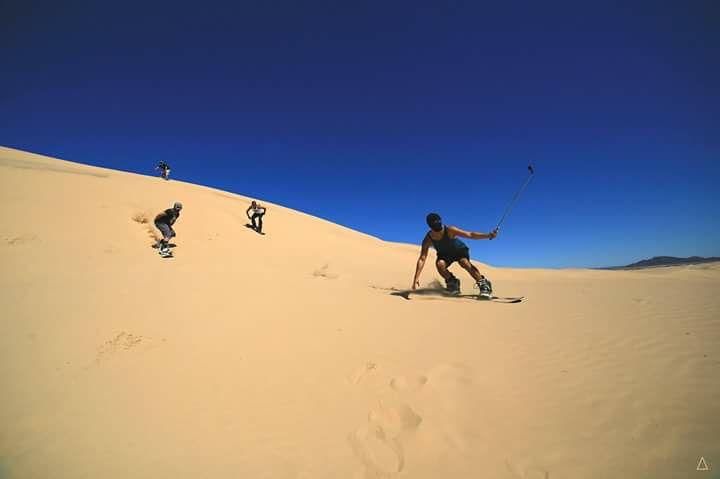 Sandboarding, un deporte extremo que gana terreno en Baja California