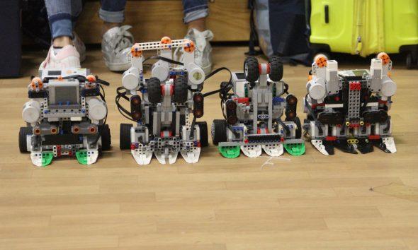 studiantes prefirieron los robots a formar parte de las pandillas en Tijuana