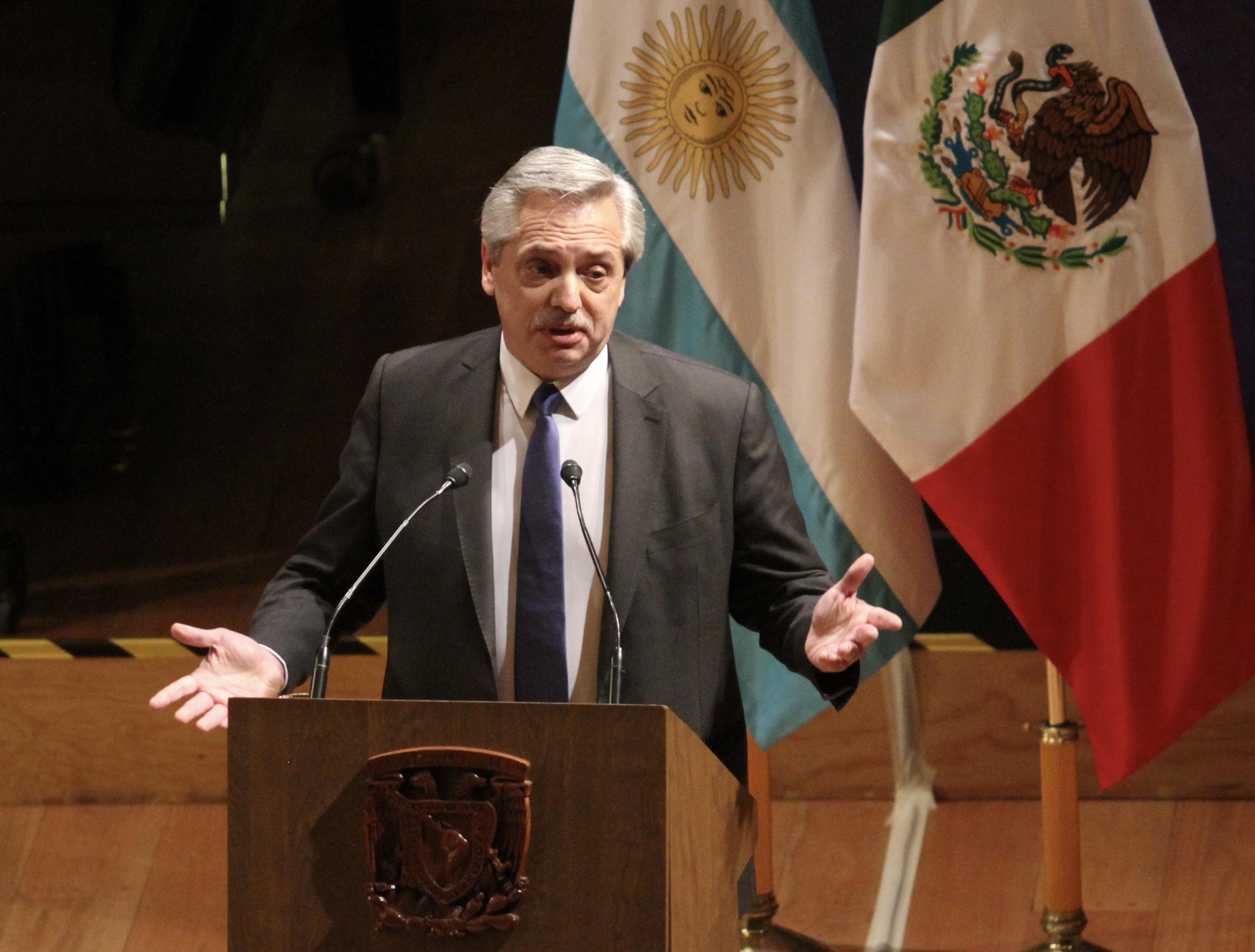 Argentina se encamina a la quiebra: Alberto Fernández