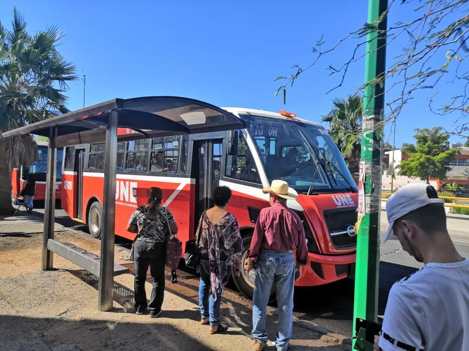 Paro de operadores no detiene servicio de transporte público en Hermosillo