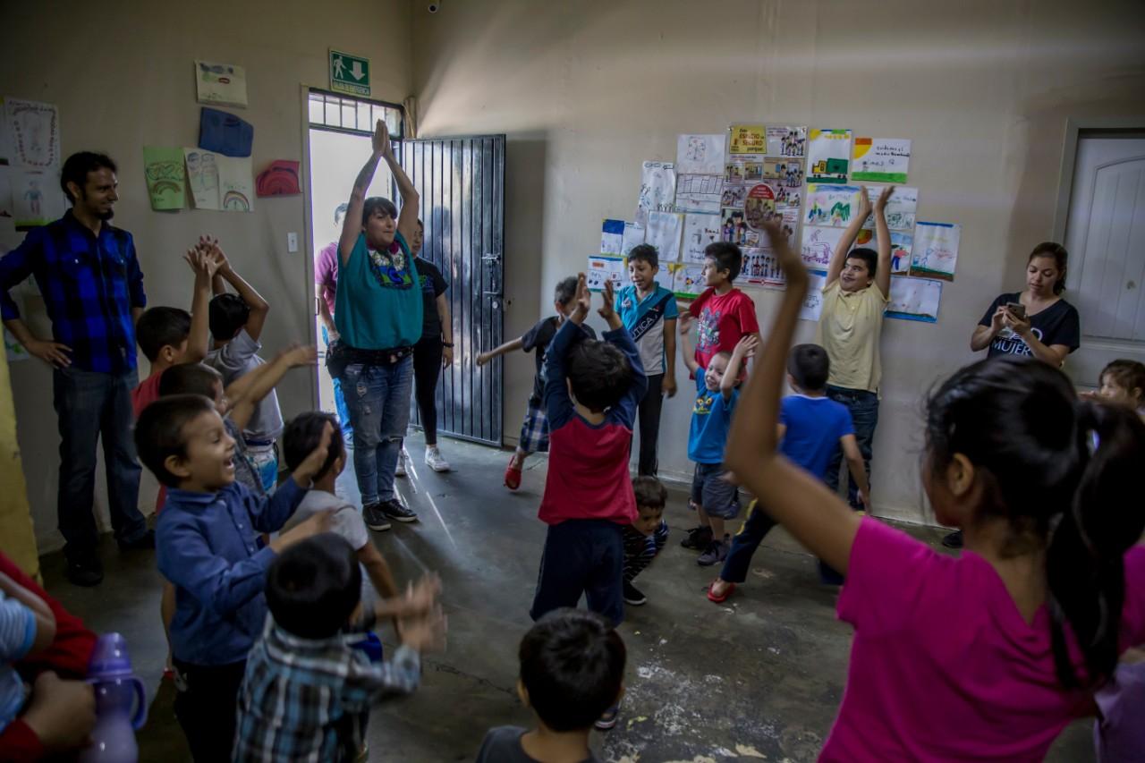 El invierno afecta a los migrantes centroamericanos en Baja California