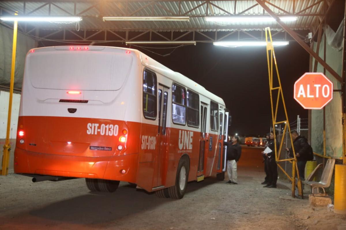 Termina la huelga de operadores del transporte público en Hermosillo