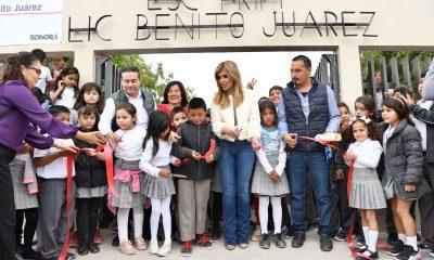 Llevaré educación a todos los niños y niñas de Sonora: Claudia Pavlovich