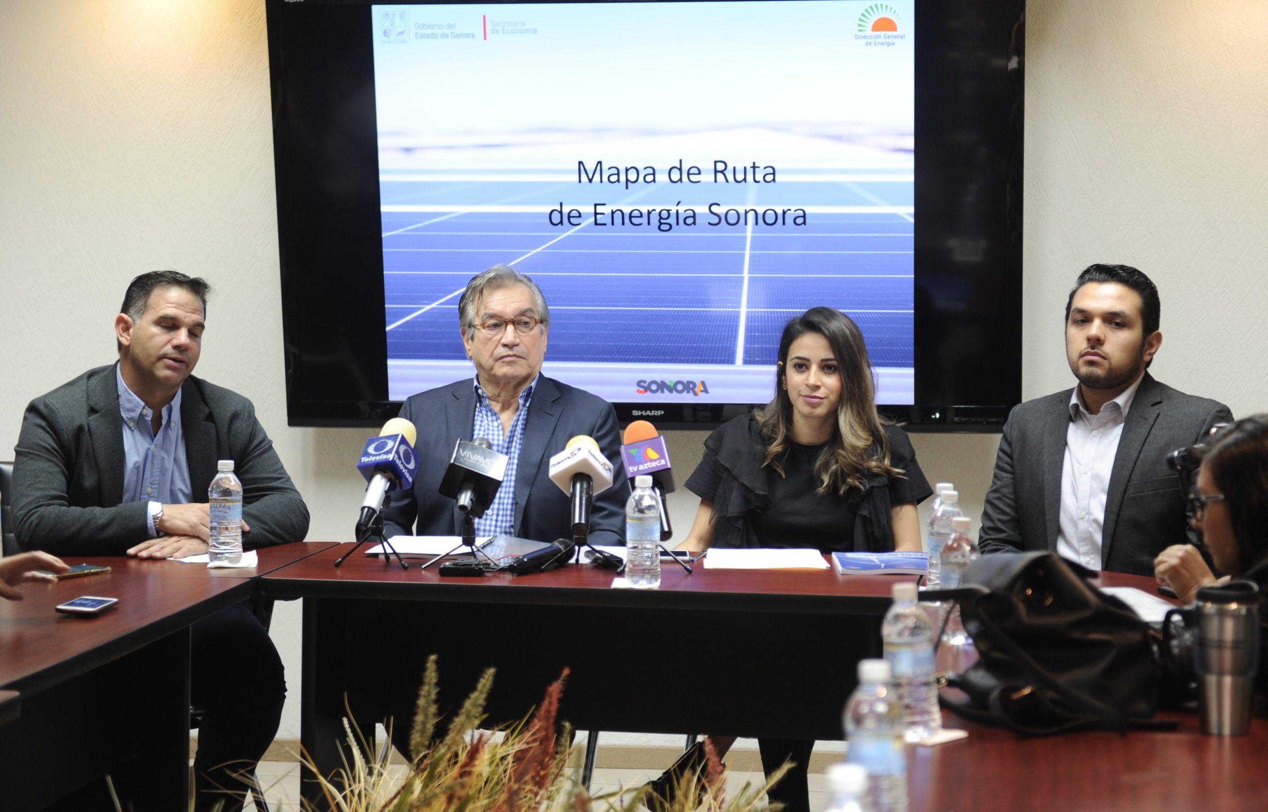 Sonora usa un mapa para animar a que las empresas inviertan parque solares y eólicos