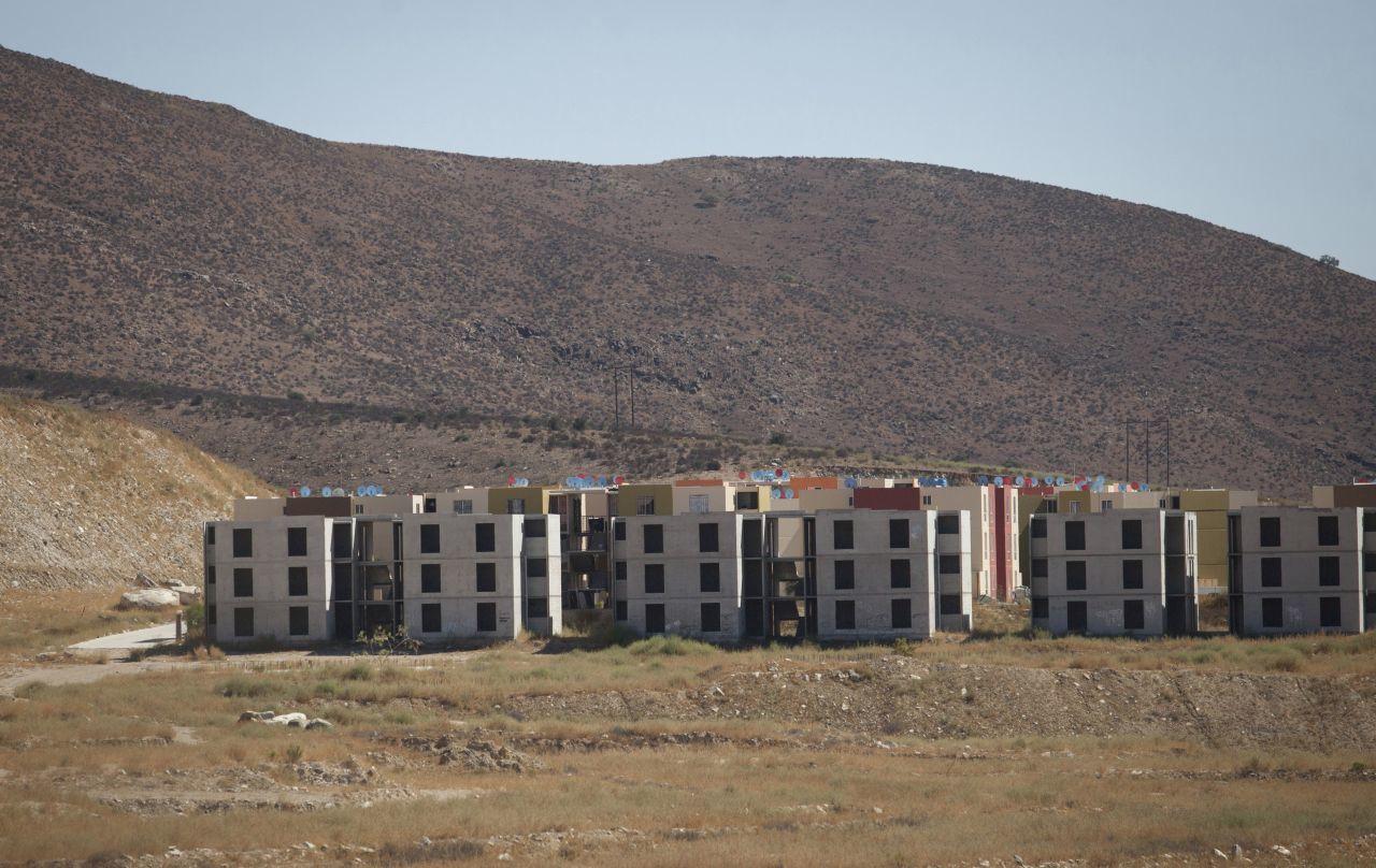 viviendas abandonadas Tijuana