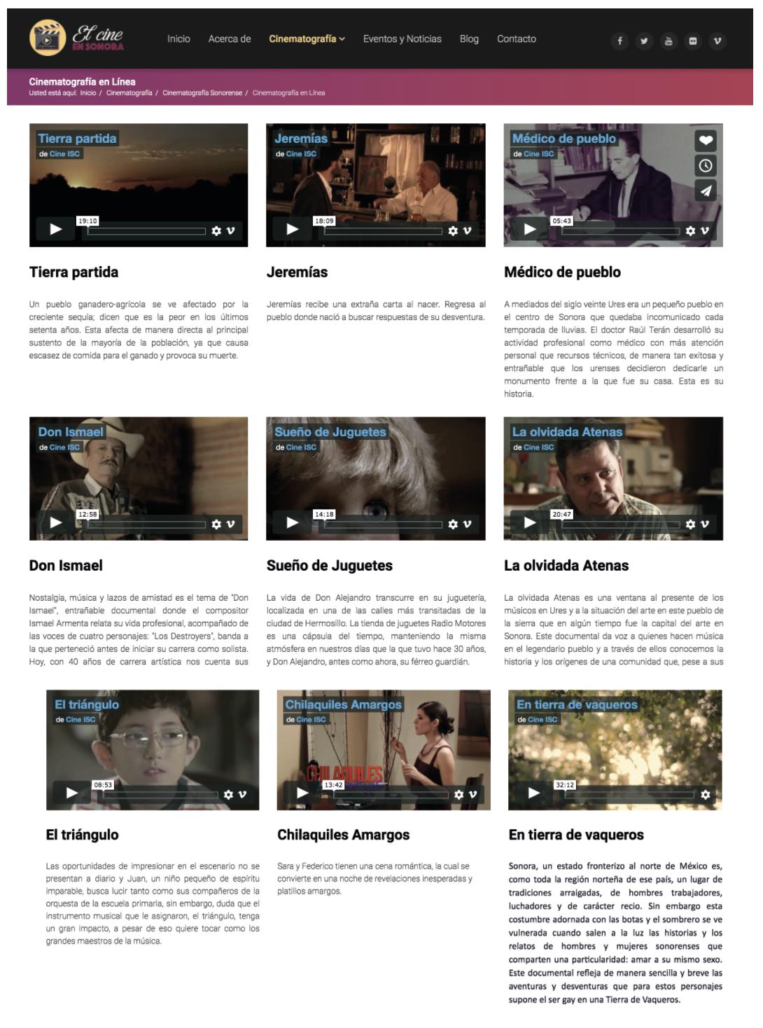 Sonora abre 38 películas gratis para disfrutarse en días del coronavirus