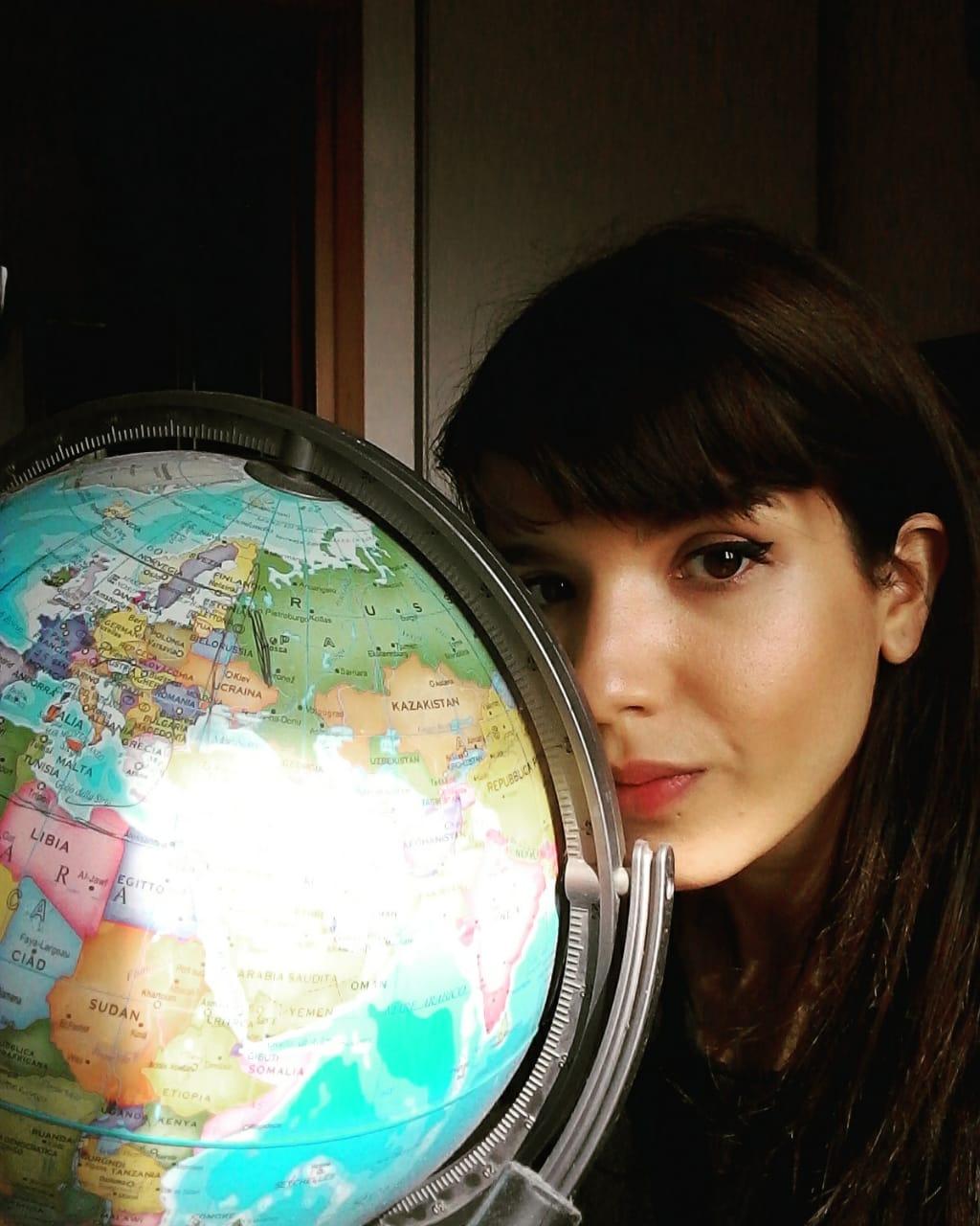 Alessandra Cancino hermosillense en Italia