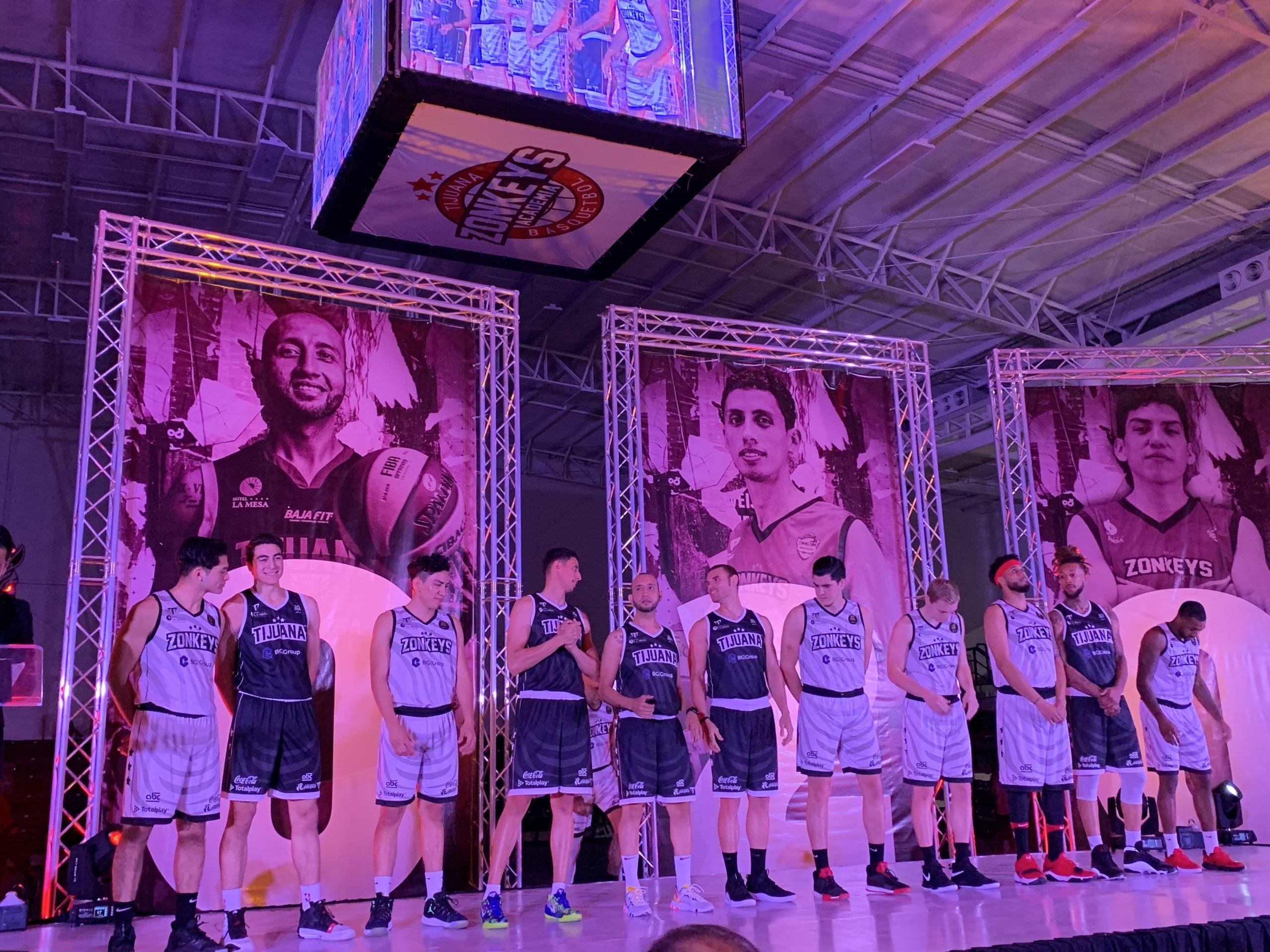 equipo basquetbol Zonkeys