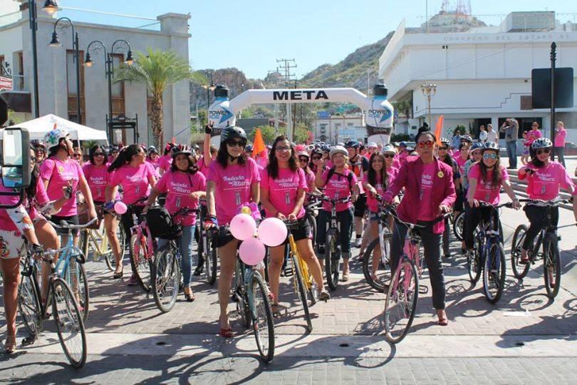 Mujeres en Bicicleta de Hermosillo
