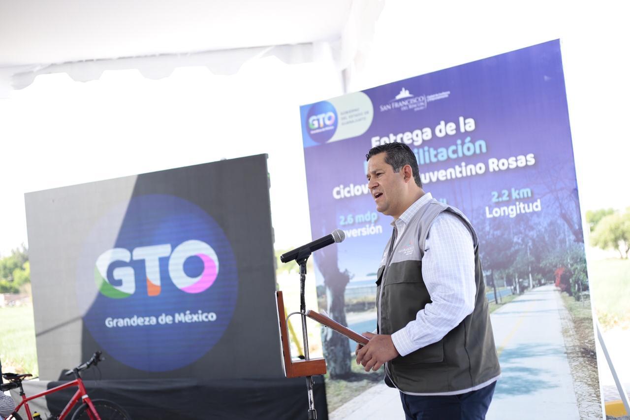 Diego Sinhue anuncia obra púbica en Guanajuato