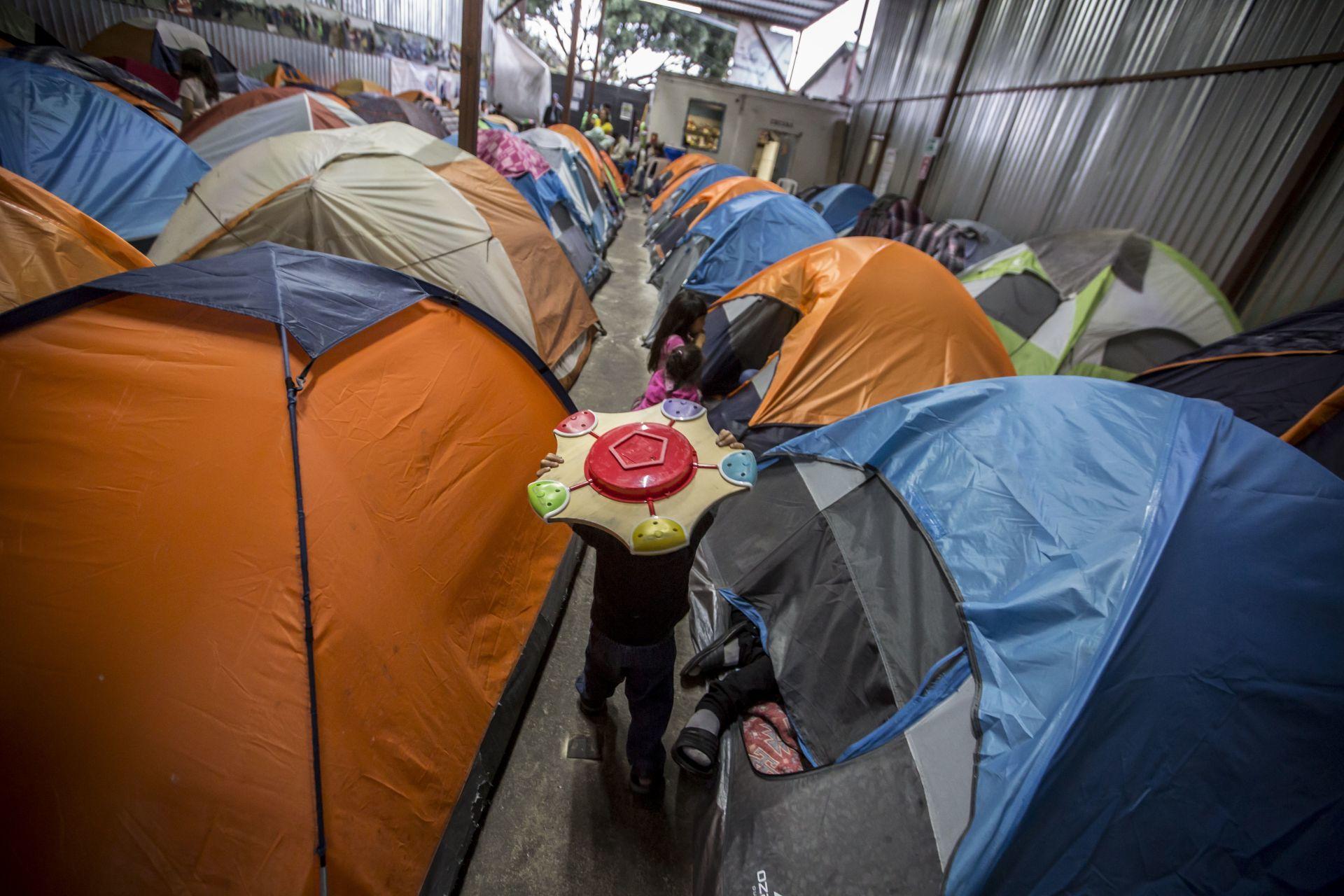 albergues migrantes Tijuana
