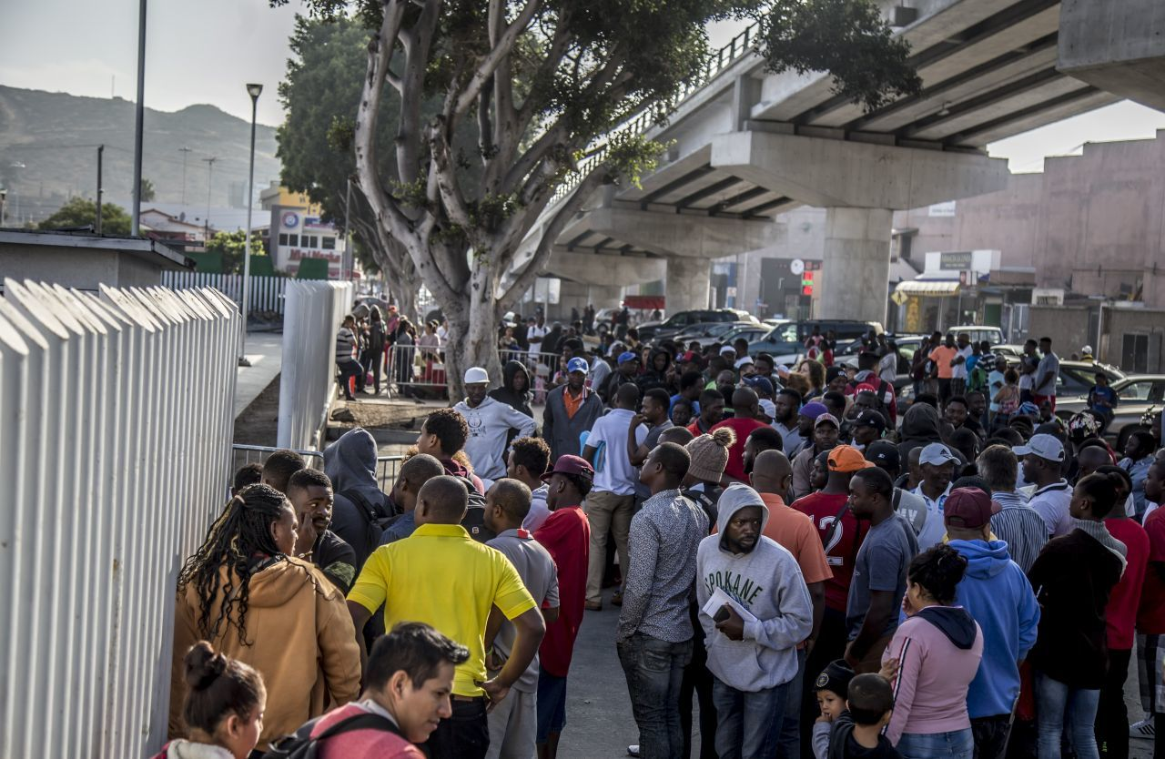 Tijuana migración