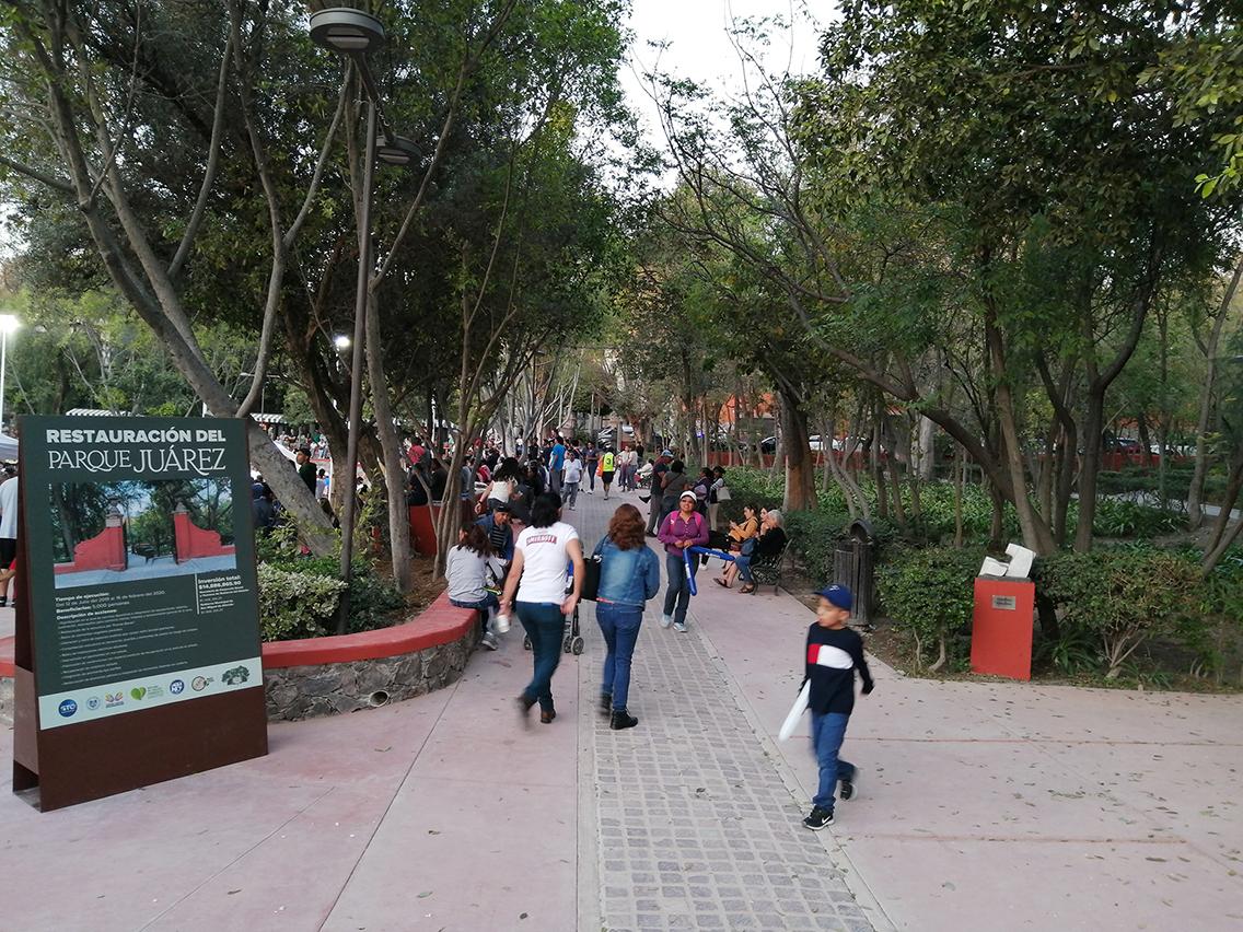 Parque Benito Juárez, San Miguel
