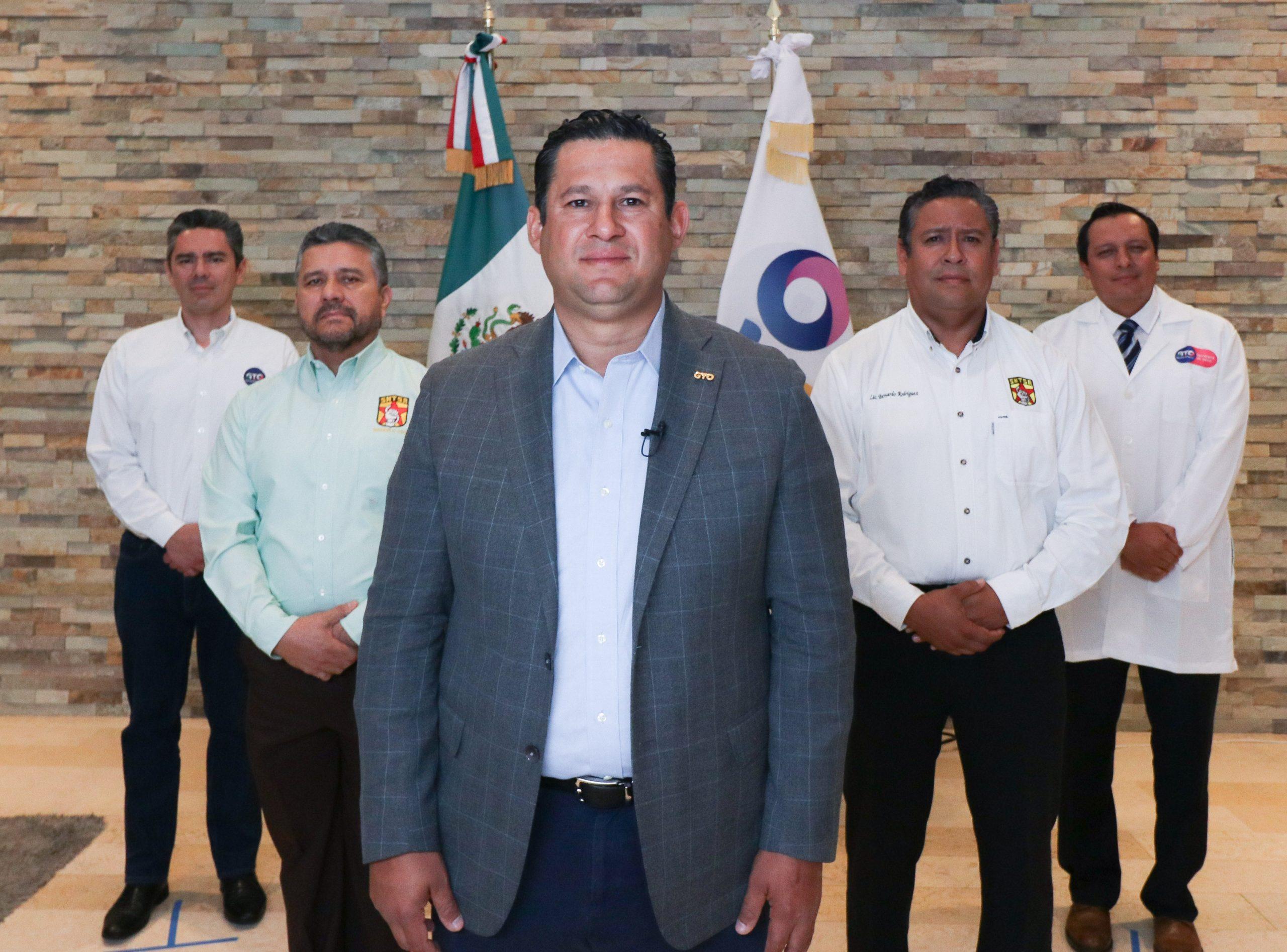 Diego Sinhue salud covid