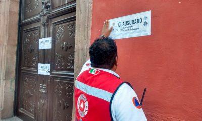 clausura BBVA y Banco Azteca San Miguel de Allende