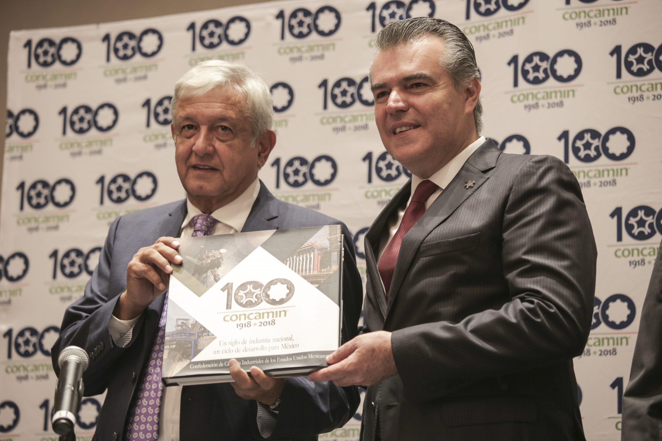 El gobierno de Andrés Manuel López Obrador debe apoyar a las empresas para que sorteen los efectos de la recesión económica, dice Concamin