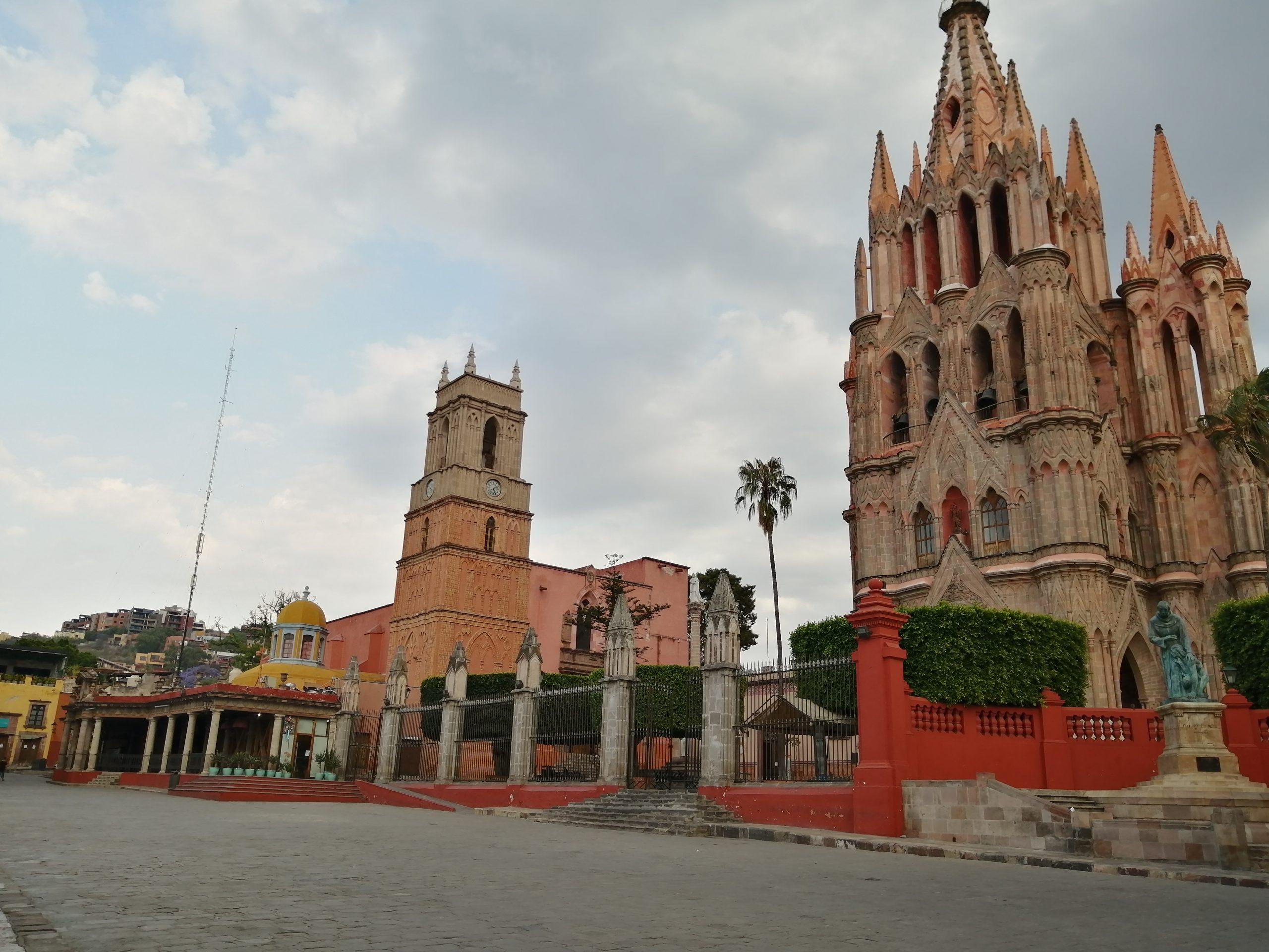 San Miguel sin turistas por Covid-19