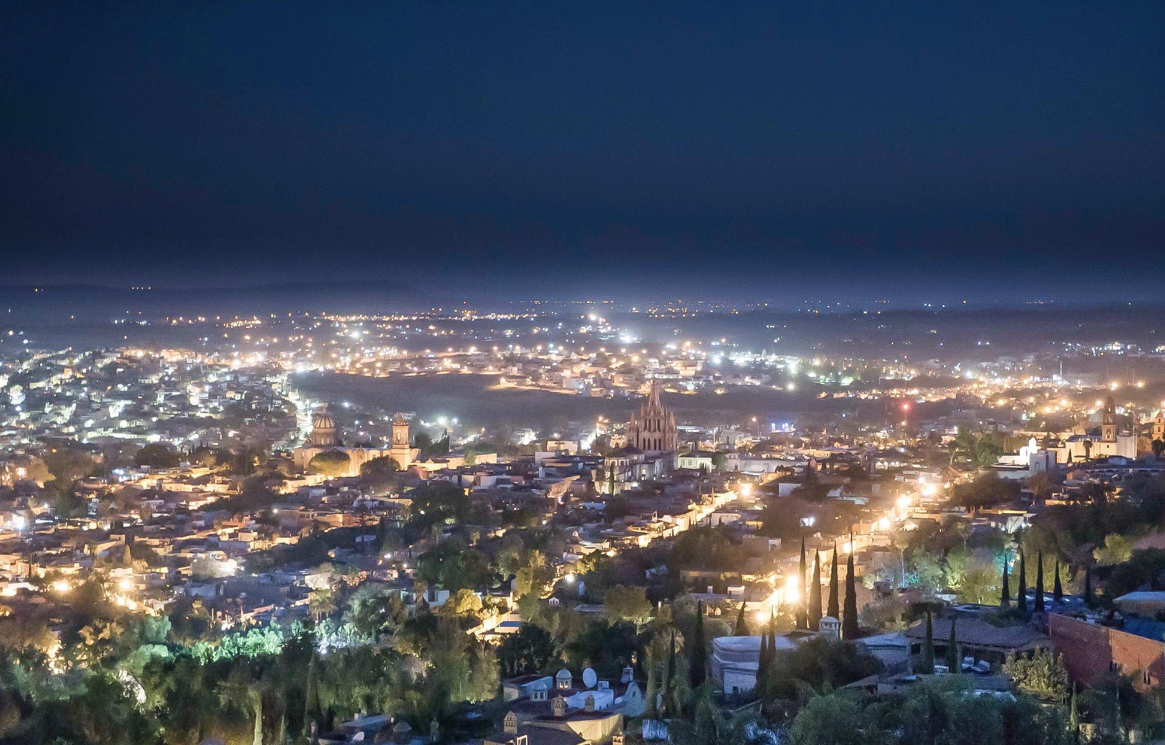 Iluminación LED San Miguel de Allende