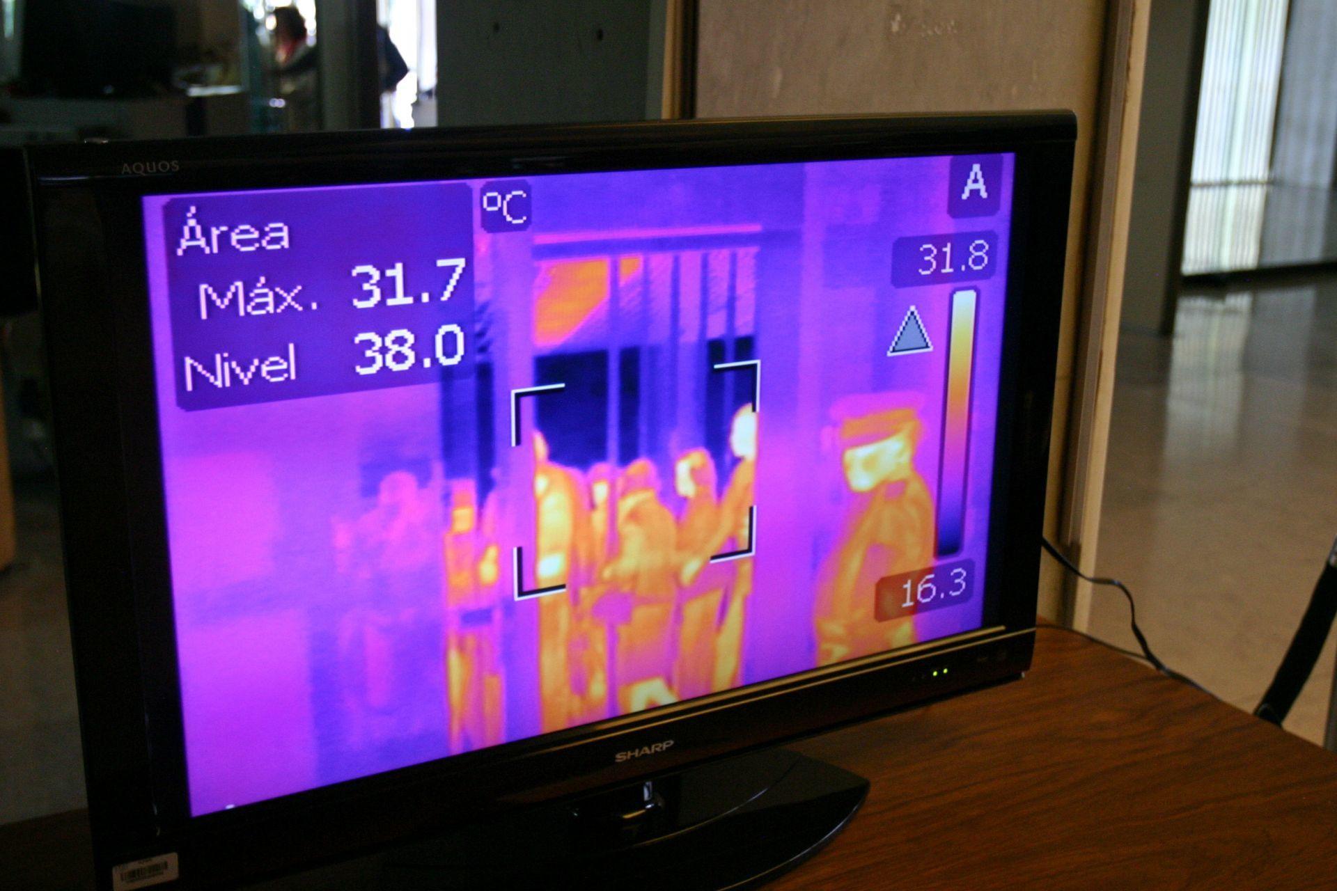 cámaras térmicas