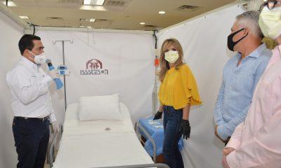 Un hotel del SNTE se convierte en un hospital de 101 camas en Sonora