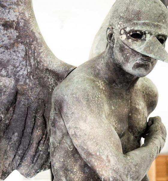 Ladrones roban en pleno Covid-19 esculturas de Jorge Marín en Suecia y Querétaro