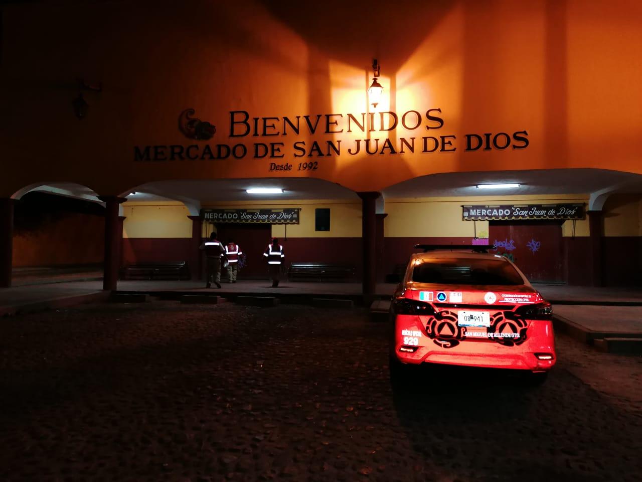 clausura mercado San Juan de Dios