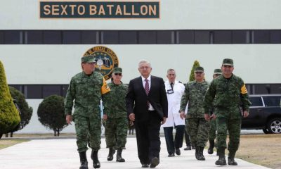 Nosotros no vamos a dar la orden de que el Ejército y la Marina ataquen al pueblo: AMLO