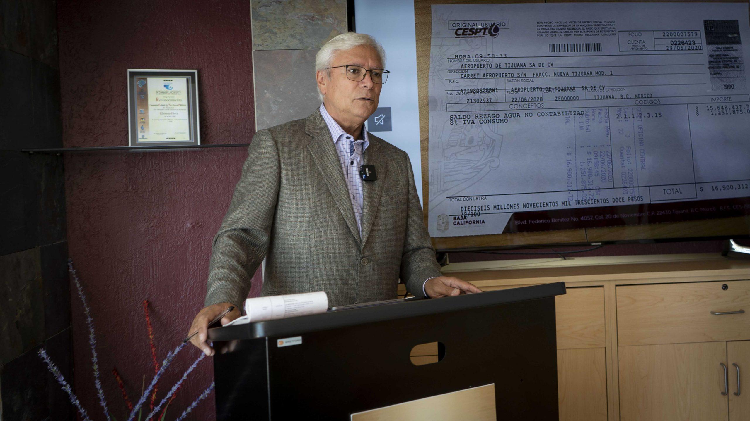 Los directivos de GAP pagaron y reconocieron sus deudas por consumo de agua: Jaime Bonilla