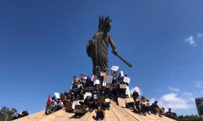 manifestación contra policías Tijuana