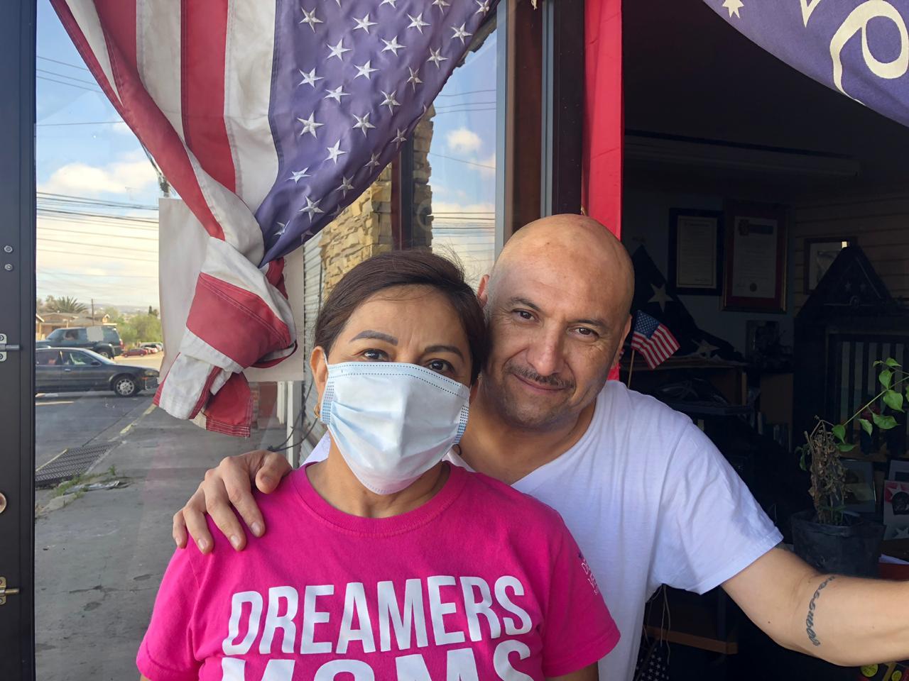 Yolanda Varona y Héctor Barajas