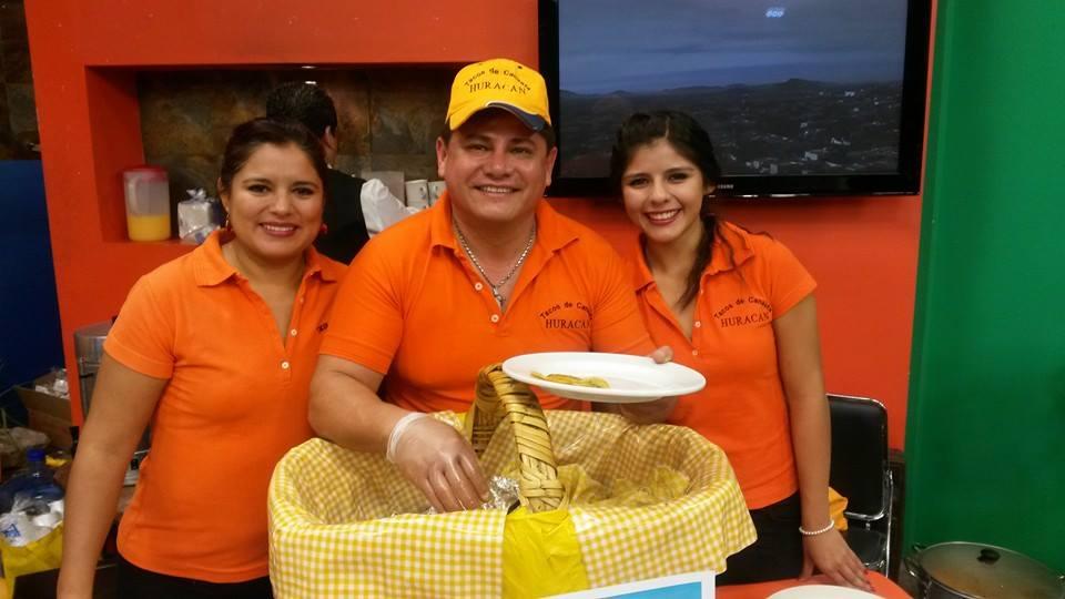 """Tacos de canasta """"Huracán"""""""
