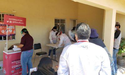 Jornadas médicas en Punta Chueca y El Desemboque