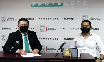Luis Núñez Noriega, vocero para el Plan de Reactivación Económica de Sonora