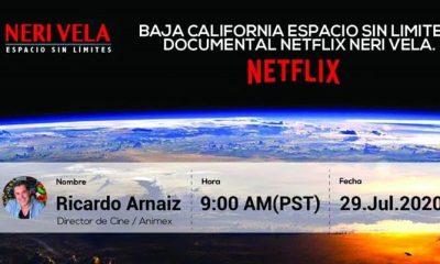 "Documental de Netflix ""Neri Vela, espacio sin límites"""