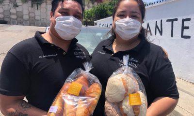 Brenda y Pedro fundaron Amaranto Panadería Tradicional