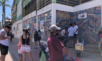 Turistas de Estados Unidos en Rosarito