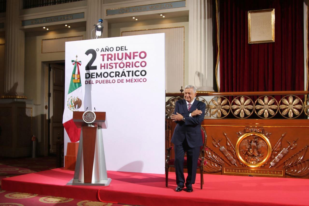 Aniversario triunfo AMLO 2020