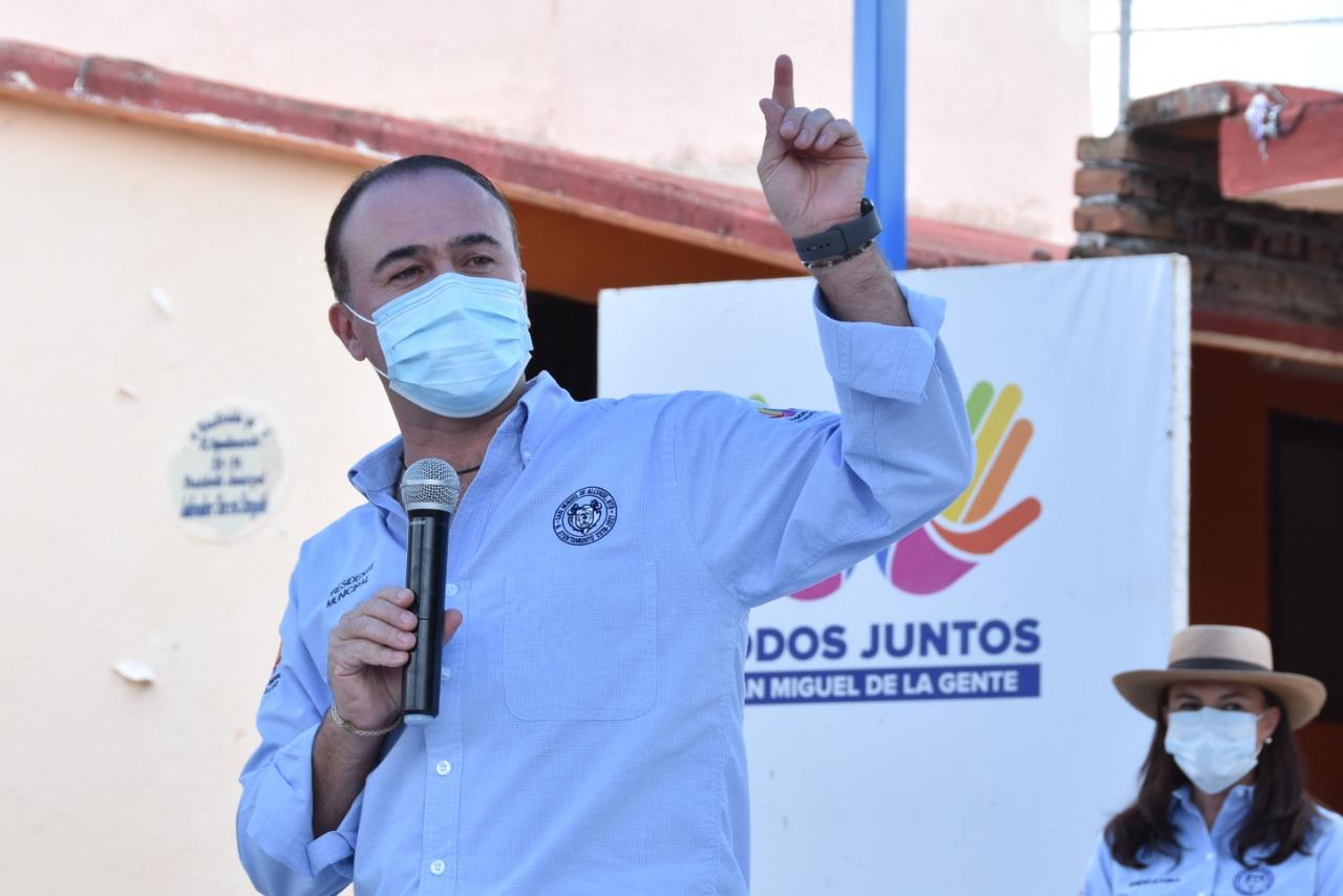 Luis Alberto Villarreal García, alcalde de San Miguel de Allende